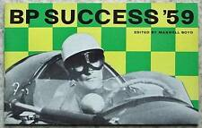 BP MOTOR SPORT Success' Achievements Records 1959 FORMULA 1 Targa Florio LE MANS
