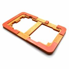 Per Samsung Galaxy S4 i9500 TOUCH SCREEN RICAMBIO Mount mold-glass RIPARAZIONE