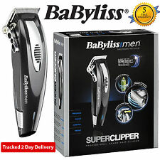 BaByliss for Men 7475U Cord/Cordless Super Hair Clipper Kit, Includes 8 Comb