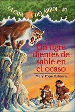 Un Tigre Dientes De Sable En El Ocaso (Sunset Of The Sabretooth) (Turtleback Sch