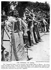 1913 The Disposal Of Judas Crowning Event Holy Week In Mexico