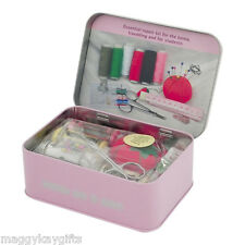 Sewing Kit in a Tin – Travel – Home –Scissor – Thread – Needle – Buttons – Tape