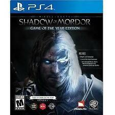 PS4 ACTION-MIDDLE EARTH:SHADOW OF MORDOR GOTY  PS4 NEW