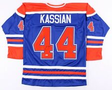 Zack Kassian Signed Oilers Jersey (Beckett) 13th Overall Pick 2009 NHL Draft