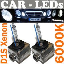 2x XENON ampoules lampes à décharge Set 2 Pièces VW Touareg 7L D1S 6000K CLAIR
