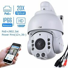 SONY CMOS 20X ZOOM HD 1080P 2.0MP  POE Outdoor PTZ IP Speed Dome Camera IR Audio