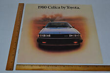 True Vintage 1980 Toyota Celica Dealer Sales Brochure Sweet