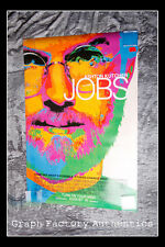 GFA Job Steve Wozniak * JOSH GAD * Signed Full Size Movie Poster AD1 COA