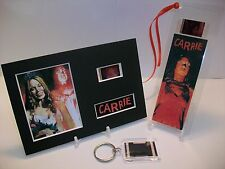CARRIE 3 Piece Movie Film Cell Memorabilia compliments dvd poster vhs
