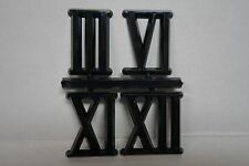 Roman numerals for clock making quarter hour lot of 5