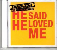 (EY52) Reverend & The Makers, He Said He Loved Me - 2007 DJ CD