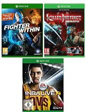 XBOX ONE GAME PACK | NBA LIVE 14 | FIGHTER WITHIN | KILLER INSTINCT | NEU & OVP