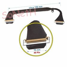 "Cavo LCD Cable Flat Flex Apple MacBook Pro Core 2 Duo 3.06 15"" SD BTO/CTO"