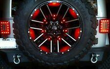 Jeep Wrangler Custom Third Brake Light MOD - Powder Coated - FULL LED