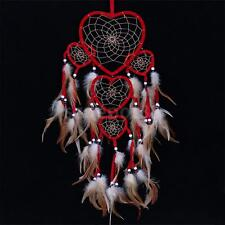 Dream Catcher Red Heart Kid Room Dreamcatcher Feather Native American Indian