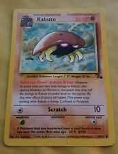 Pokemon black star promo carte-gold w estampillé kabuto
