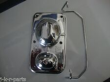 CHROME MASTER CYLINDER COVER FITS GM 1967-1980 #9101