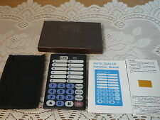 Vintage Phone Telephone Auto Dialer GTE in Original Box