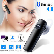 Wireless Bluetooth 4.0 Handsfree Stereo Earphone Headset for iPhone Samsung LG F