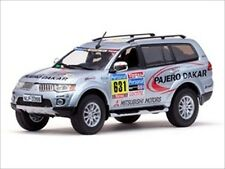 MITSUBISHI PAJERO SPORT 2010 RALLY DAKAR SERVICE 1/43 MODEL CAR BY VITESSE 43437