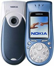 BIG BLUE NOKIA 3650 OLDSCHOOL GSM CELL PHONE ROGERS CHATR MOBILE CAMERA POCKET