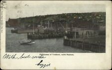 Yonkers NY From The Harbor c1905 Postcard