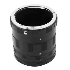 Macro Extension Tube Ring For Canon NEX E Mount 7D 6D 5D II III 80D 70D 60D 700D