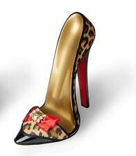 High Heel Shoe Leopard For Holding Tablet, Mobile Phone or Business Cards