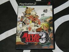 Playstation 2 PS2 Import Game Metal Slug 3 Japan Region Locked