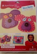 New AMERICAN GIRL Crafts Sew & Shares Kit DOGS