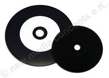 25 Carbonio Vinile CD vergini GLOSSY sono stampabili BIANCO 700 MB, disco ottica