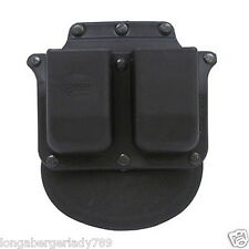 FOBUS PADDLE HOLSTER DOUBLE MAG POUCH 4 GLOCK 36 S&W 45 CLIP BELT HOLDER