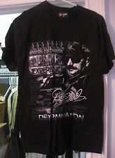 DALE EARNHARDT #3 BLACK TWO-SIDED T-SHIRT WINSTON CUP CHAMPION SIZE LARGE NEW