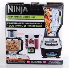 Ninja Mega Kitchen System 1500 Watt Food Processor Blender BL773CO Nutri Cups