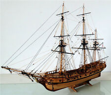 RATTLESNAKE 1782 wood ship model kit, 1:48 scale