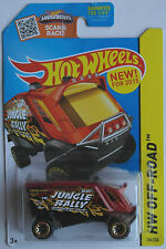 "Hot Wheels - Aero Pod rotbraun/schwarz ""Jungle Rally"" Neu/OVP US-Card"