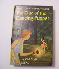 Nancy Drew #39, Clue of the Dancing Puppet, 1st Yellow Spine, Picture Cover