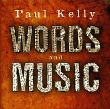PAUL KELLY Words And Music CD BRAND NEW w/ Monique Brumby & Rebecca Barnard