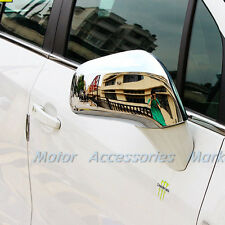 Chrome Rearview Mirror Cover Trim For Opel Vauxhall Mokka Buick Encore 2013-2015