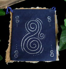 Water Element Blue Spell Pouch Charm Bag  Wicca Witch Pagan Sea Magic Talisman