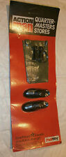 VINTAGE ACTION MAN qm CARD NERO SHOES Shorts & Binoculare 1 / 6A ACCESSORIO scala