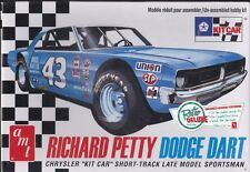 #43 Richard Petty Dodge Dart Kit Car 1/25th Plastic Model Kit #819/12  NIB