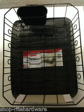 RUBBERMAID LARGE BLACK MICROBAN DISH DRAINER SINK RACK TRAY UTENSIL CUP SET