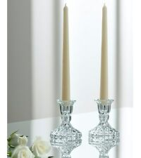 "Galway Crystal Ashford 4 ""CANDELIERI Coppia. Boxed. RRP £ 25 / 41 $"