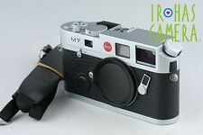 Leica M7 0.72 35mm Rangefinder Film Camera In Silver #10373D1