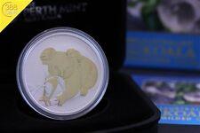 Australien Koala 1 Unze oz Silber vergoldet gilded 2010