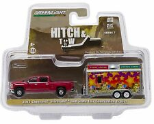 1:64 GreenLight *HITCH & TOW 7* 2015 Silverado w/State Fair Concession Trailer