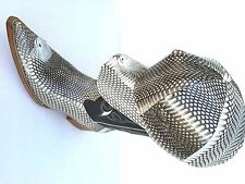COBRA SKIN BOOTS & HAT(GENUINE)( 2 HED OF SNAKE ) HAT WITH FULL LINING # 64