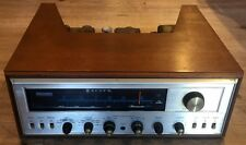 VINTAGE HH SCOTT STEREOMASTER 340B RADIO TUBE RECEIVER AMPLIFIER CABINET 340 B