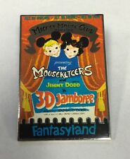 Disney Disneyland Fantasyland Theater Mickey Mouse Club Attraction Poster LE Pin